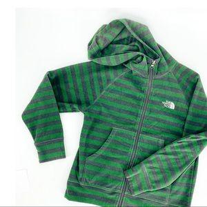 🌼 THE NORTH FACE fleece hoodie zip jacket sweater